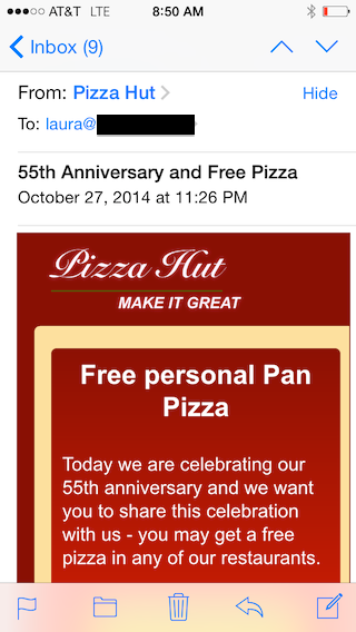 PizzaHutMail